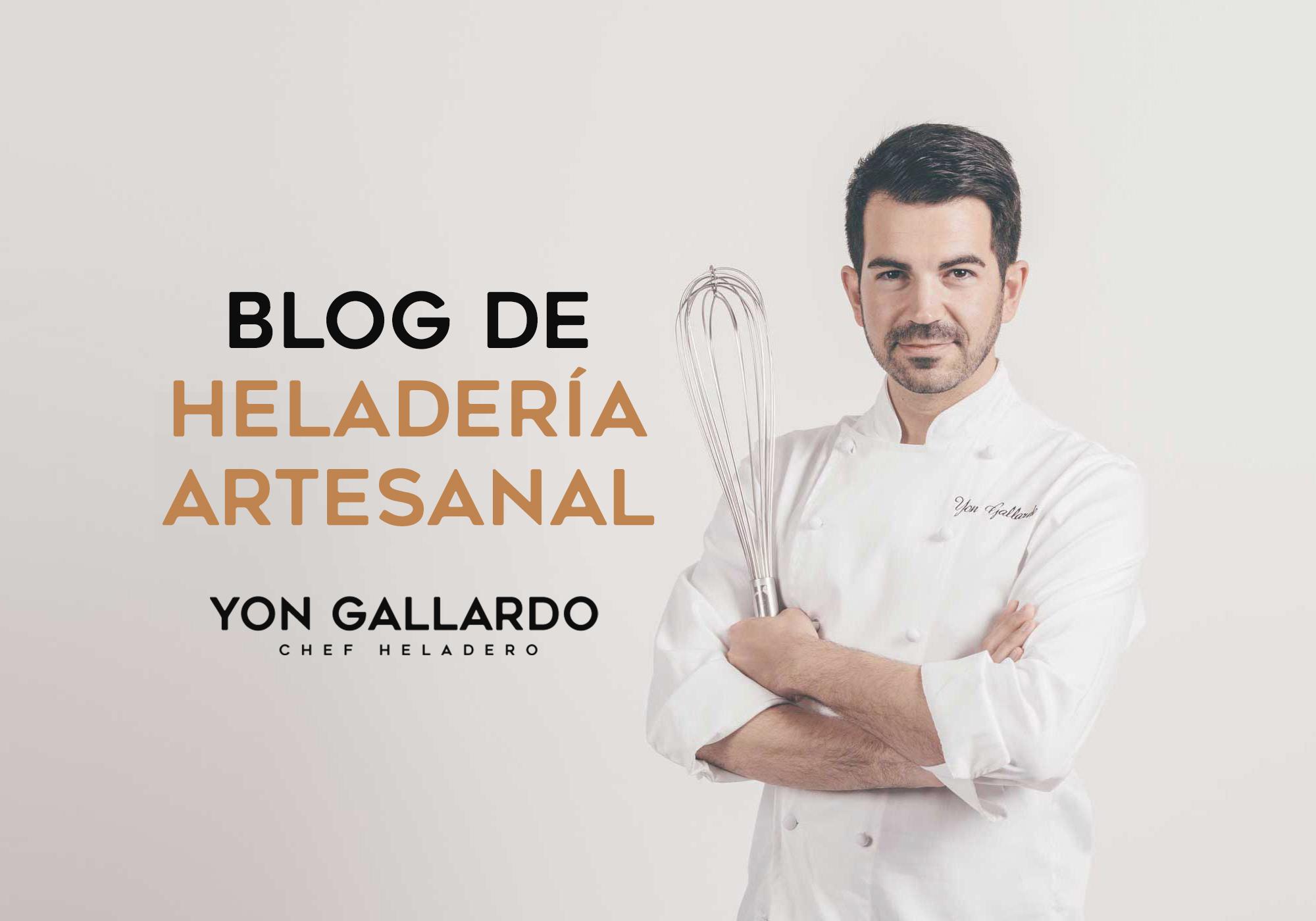 Blog de heladería artesanal - Yon Gallardo