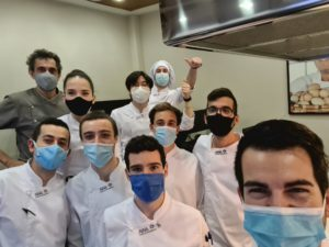 Curso de helados en Aiala Escuela de Hostelería de Karlos Arguiñano
